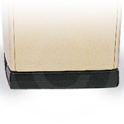 """Rubbermaid 256W Hold Down Base for 256B Containers - 21.13"""" L x 18"""" W x 5"""" H - Black"""