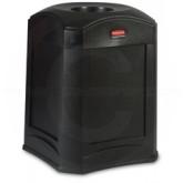 "Rubbermaid 9W00 Landmark Series Standard Funnel Top - 35 Gallon Capacity - 24"" Sq. x 31"" H - Thumbnail Image"