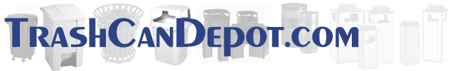 Trash Can Depot - Your source for Trash Cans, Garbage Cans, Trash Containers and Waste Receptacles
