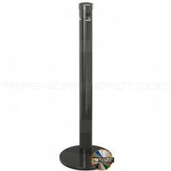 "Glaro 4403 Deluxe Free Standing Smokers Pole - 3 1/2"" Dia. x 42"" H - Assorted Colors"