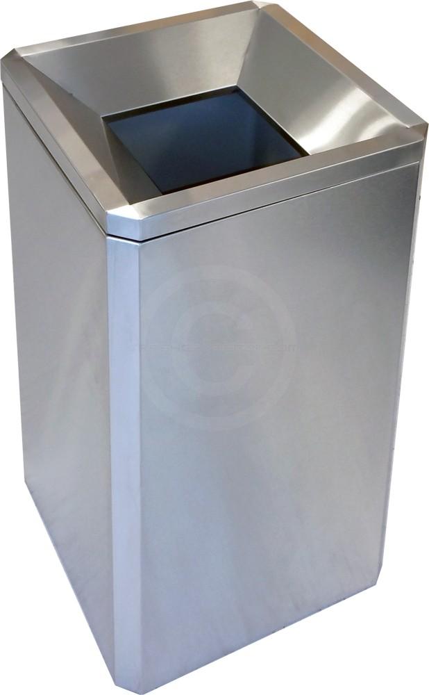 Imprezza Sqssft24 Funnel Top Square Trash Can 24 Gallon