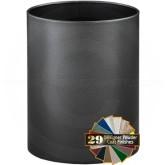 "Glaro 1116 Open Top Wastebasket - 7 Gallon Capacity - 11"" Dia. x 16"" H - Silver Vein"