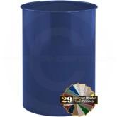"Glaro 1321BL Open Top Wastebasket - 14 Gallon Capacity - 14"" Dia. x 21"" H - Blue in Color"