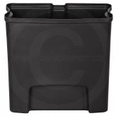 Rubbermaid 1883617 Slim Jim Plastic Liner for Front Step-On Receptacle - 4 Gallon Capacity - Black in Color