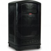 "Rubbermaid 3964 Plaza Container - 50 Gallon Capacity - 24 3/4"" L x 25 1/4"" W x 42.13"" H"