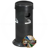 "Glaro 4405 Deluxe Table Top Smokers Post - 3 1/2"" Dia. x 8"" H - Assorted Colors"