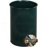 "Glaro 65 Mount Everest Wastebasket - 4 Gallon Capacity - 9"" Dia. x 14"" H - Your choice of color"