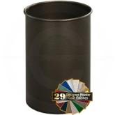 "Glaro 66CB Mount Everest Wastebasket - 5 Gallon Capacity - 10"" Dia. x 15"" H - Copper Vein"