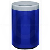 "Witt Industries 7C-2436T Two-Piece Round Open Top Fiberglass Waste Receptacle - 50 Gallon Capacity - 24"" Dia. x 36"" H - Your choice of color"
