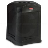 "Rubbermaid 9W00 Landmark Series Standard Funnel Top - 35 Gallon Capacity - 24"" Sq. x 31"" H - Thumbnail Image"
