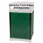 "Rubbermaid 9W50 Infinity 35 U.S. gal Square Perforated Panel Kit, Kit = 4 Panels, 4 Uprights - 29.13"" L x 19 3/4"" W"