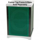"Rubbermaid 9W51 Infinity 50 U.S. gal Square Perforated Panel Kit, Kit = 4 Panels, 4 Uprights - 35 3/4"" L x 19.13"" W"