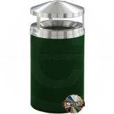 "Glaro H2001 Canopy Top WasteMaster Garbage Can - 33 Gallon Capacity - 20"" Dia. x 42"" H - Your choice of color"