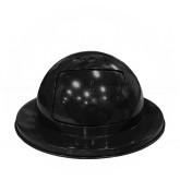 """Imprezza PDDT30BLK 30 Gallon Dome Drum Top Lid - 20"""" Dia. x 11 1/2"""" H - Black in Color"""
