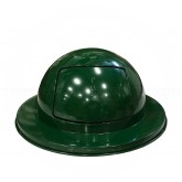 "Imprezza PDDT30GRN Drum Top Dome Lid -  Fits 30 Gallon Drums - 20"" Dia. x 11 1/2"" H - Dark Green in Color"